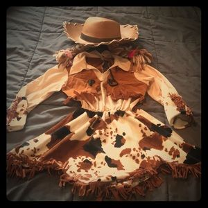 Other - Girls cowgirl costume